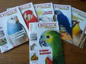 Parution d'Oiseaux Passion dans magazines et livres P11002242-300x225